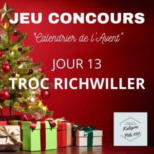 C'est Noël avant Noël !!! N'oubliez pas votre magasin Troc Richwiller est ouvert aujourd'hui dimanche 13 décembre 2020 de 14h à 18h. Une autre belle surprise vous y attend... Peut être le Père Noël 😃
