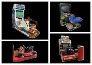 Bel arrivage, avis aux amateurs ! Jeux d'arcade moto / ski et karting à venir découvrir en magasin