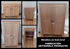 Vous les attendiez... Les meubles en bois brut sont enfin de retour ! ❗️ Quantité limitée ❗️ Fabrication artisanale Française